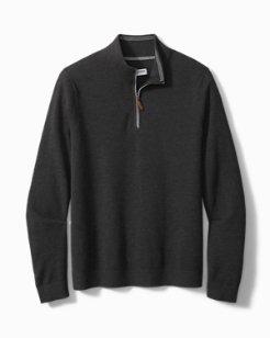 Big & Tall Coolside IslandZone® Half-Zip Sweater