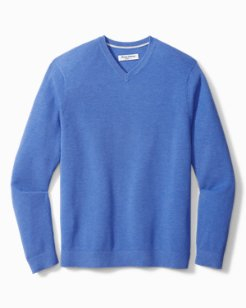 Big & Tall Coolside IslandZone® V-Neck Sweater