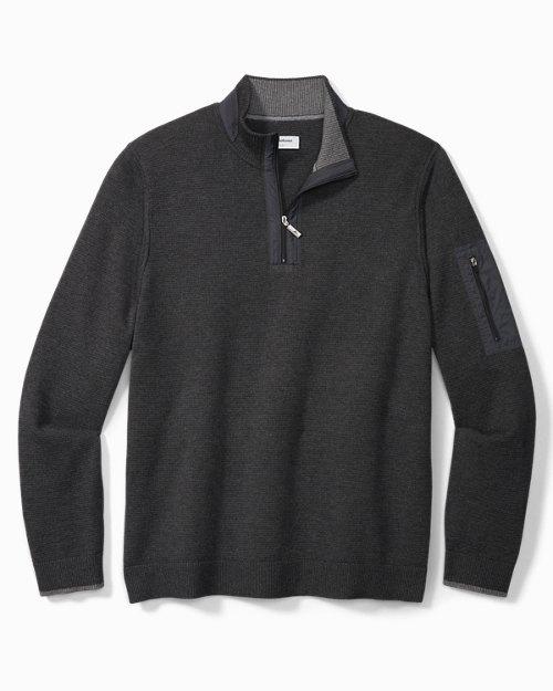 Big & Tall IslandZone® Coolside Active Half-Zip Sweater