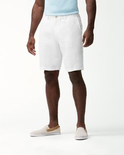 Big & Tall Linen The Good Life Elastic-Waist Shorts