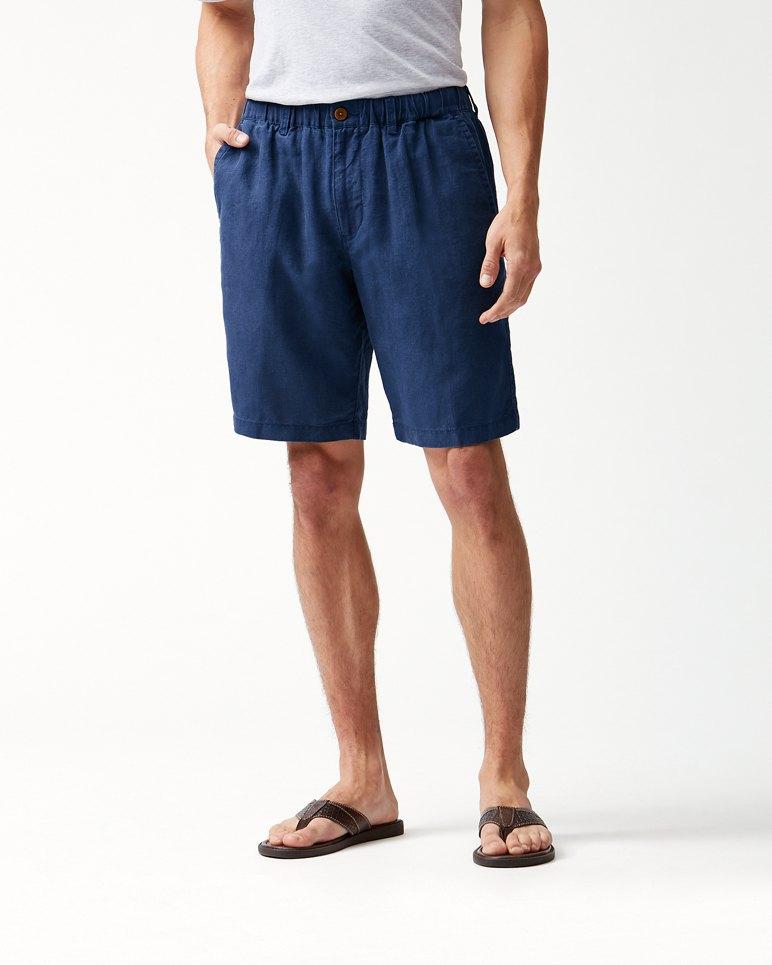 Main Image for Big & Tall Linen The Good Life Elastic-Waist Shorts