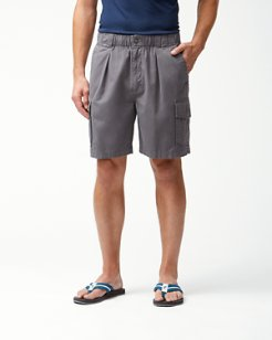 Big & Tall Bahama Survivor Elastic-Waist Cargo Shorts