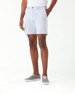 Big & Tall Menorca Stripe Chino Shorts