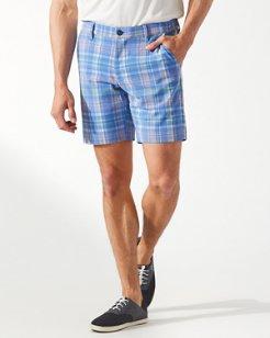 Big & Tall Beachfront Plaid Shorts