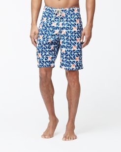 Big & Tall Baja Jupiter Geo Board Shorts