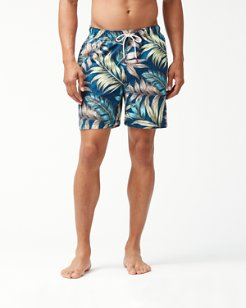 Big & Tall Naples Parque Palms Swim Trunks