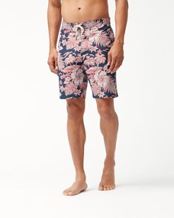 Big & Tall Baja Beach Batik Board Shorts