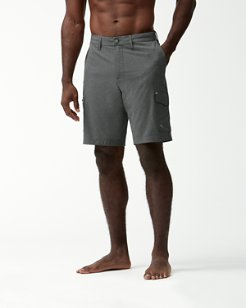 Big & Tall Cayman Isles Cargo Hybrid Board Shorts