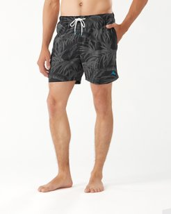 Big & Tall Naples Desert Fronds Swim Trunks