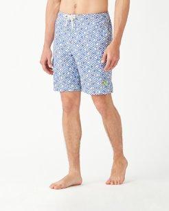 Big & Tall Baja Kaleidoscope Cay Board Shorts