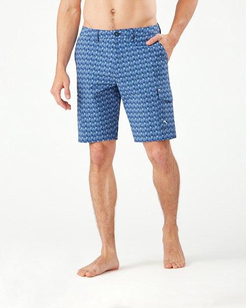 Big & Tall Cayman Marlin Mingle IslandZone® Cargo Board Shorts