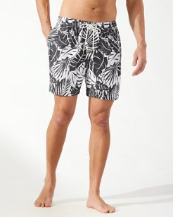 Big & Tall Naples Costa Blanca Swim Trunks