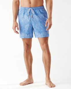Big & Tall Naples Coral Coast Swim Trunks