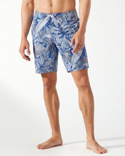 Big & Tall Baja Island Botanical Board Shorts