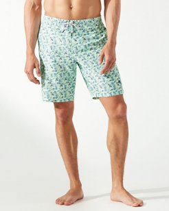 Big & Tall Baja Talavera Tiles Board Shorts