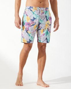 Big & Tall Baja Ibiza Beach Club 9-Inch Board Shorts
