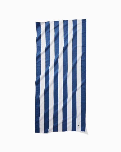 Cabana Stripe Quick Dry Beach Towel