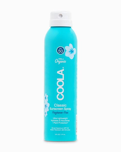 Fragrance-Free SPF 50 Body Sunscreen Spray by COOLA®