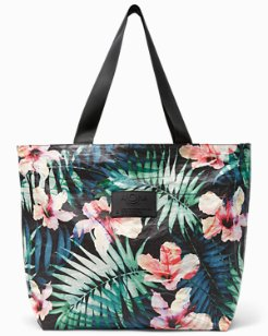 Hibiscus Palm Day Tripper Tote