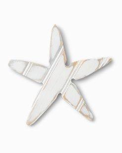 Starfish Wood Wreath Accessory