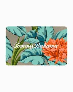 Tommy Bahama Island Flower Gift Card