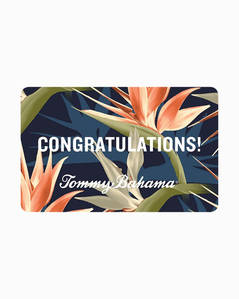Main Image for Tommy Bahama Congrats eGift Card
