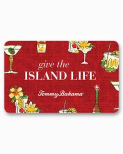 Tommy Bahama Holiday Virtual Gift Card
