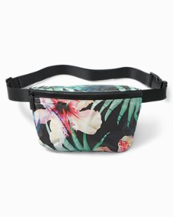 Hibiscus Palm Hip Pack