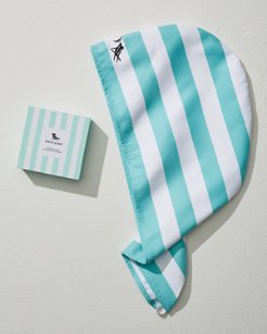 Cabana Stripe Quick Dry Hair Wrap