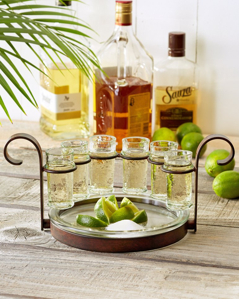 Tequila Shot Glasses Set Of Six