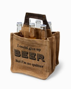 Quitter Beer 6-Pack Carrier