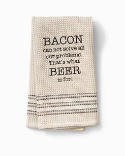 Bacon & Beer Bar Towel