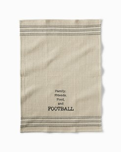 Football Bar Towel