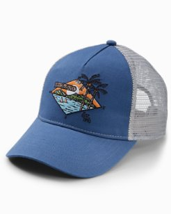 Paradise Island Trucker Cap