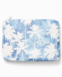 Coco Palm Mid-Sized Pouch