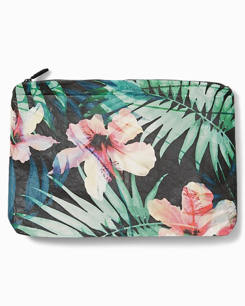 Hibiscus Palm Pouch