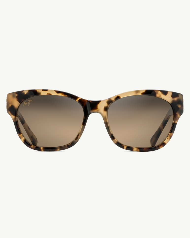 Main Image for Monstera Leaf 24k-Gold Trim Sunglasses by Maui Jim®