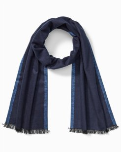 Reverse Solid Silk Scarf