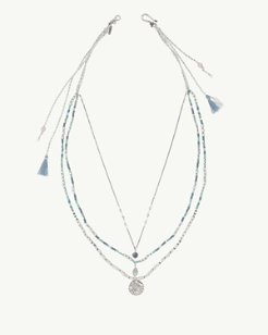 Chan Luu® Ocean Front Beaded Necklace