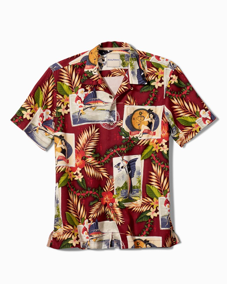Original Fit Tommy Holidays Camp Shirt