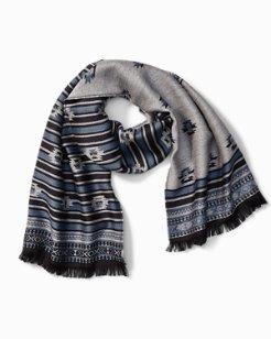 Aztec Wool Scarf