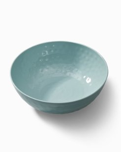 Blue Swirl Melamine Serving Bowl
