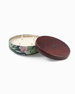 Paradise Blends 4-Wick Large Candle Tin