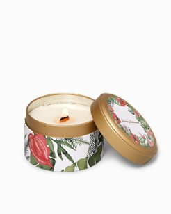 Huladay Wreath Candle Tin