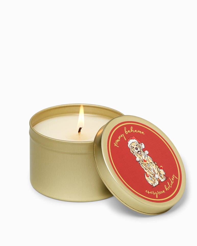 Main Image for Huladay Ornament Dog Candle Tin