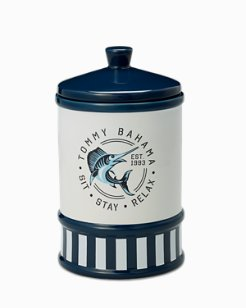 Large Pet Snack Cannister