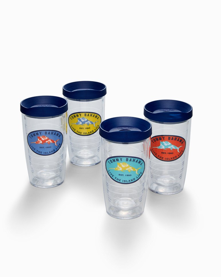 Main Image for Floral Marlin Tervis Tumblers® - Set of 4