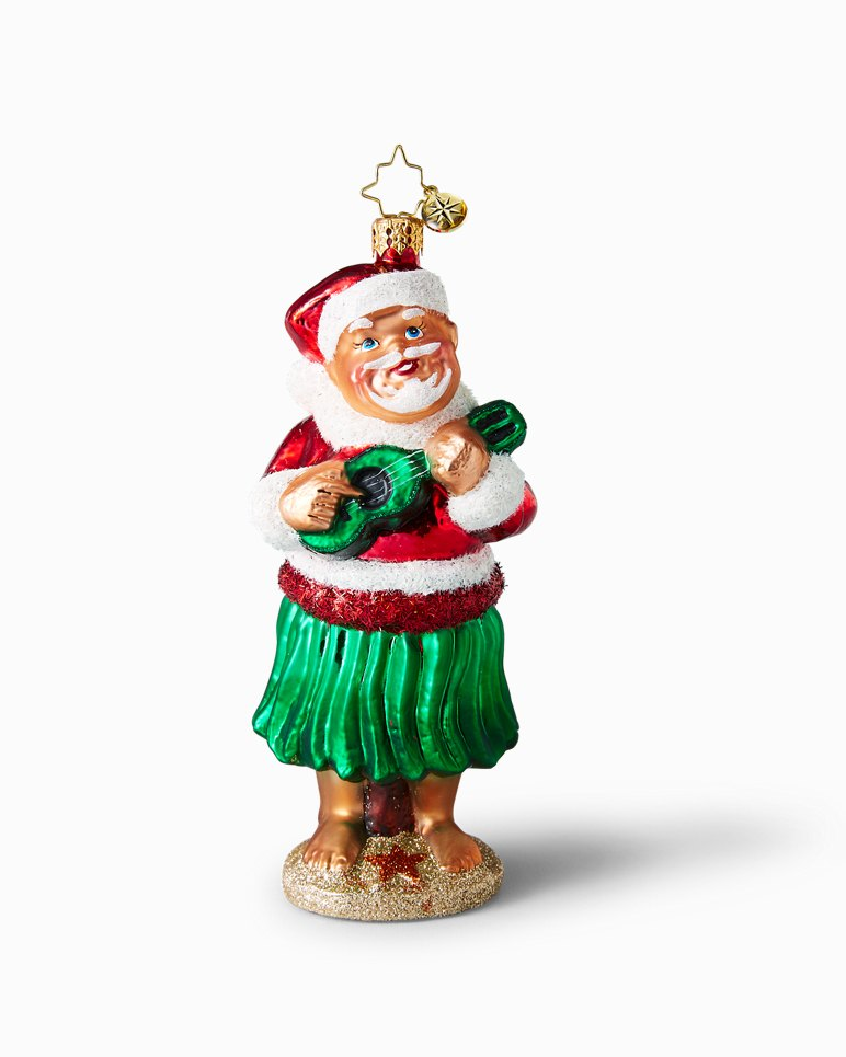 Main Image for Hula Santa Christopher Radko Ornament