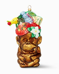 Tiki Monkey Ornament