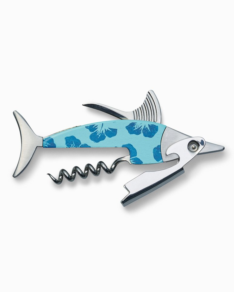 Main Image for Floral Marlin Wood Corkscrew